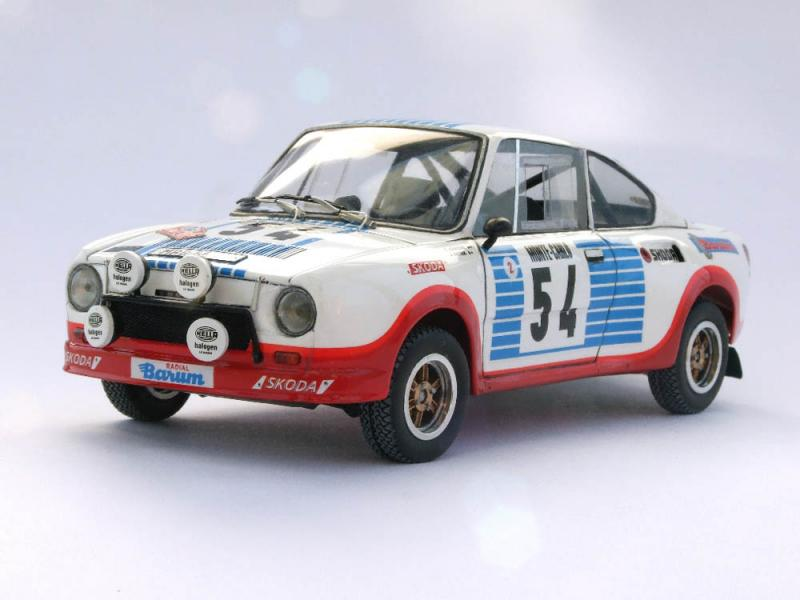Skoda 130rs Skoda 130rs 3d Model Cgstudio Skoda Superb